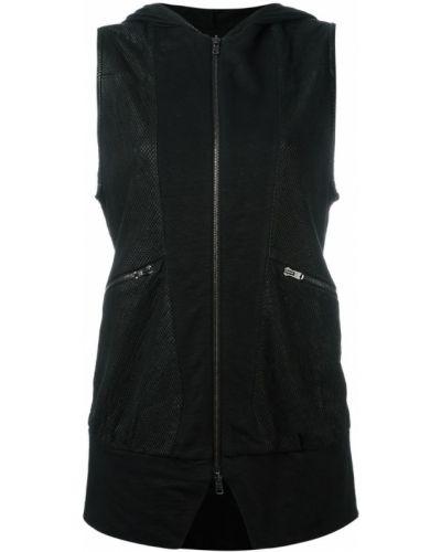 Кожаная куртка черная с перфорацией Lost & Found Ria Dunn