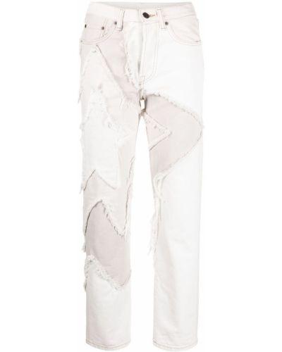 Klasyczne białe jeansy bawełniane Acne Studios