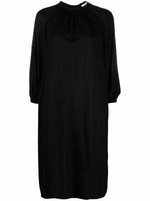 Черное платье с вырезом Henrik Vibskov