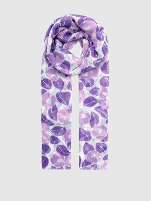 Фиолетовый палантин Francesca Bassi