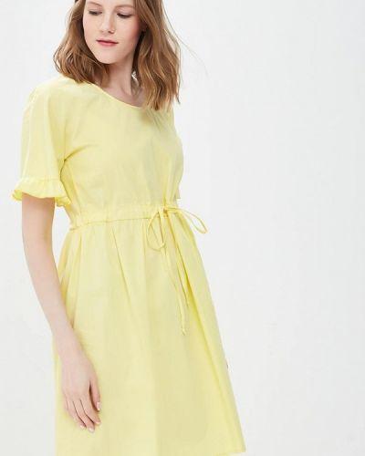 Желтое платье весеннее Rinascimento