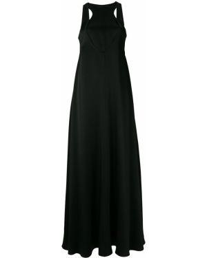 Вечернее платье на молнии шелковое Valentino