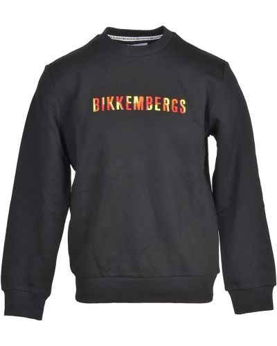 Czarna bluza dresowa Bikkembergs