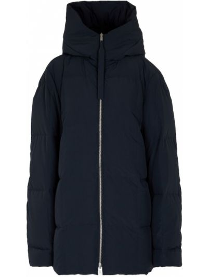 Niebieska włoska kurtka Jil Sander