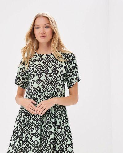Бирюзовое платье весеннее Compania Fantastica
