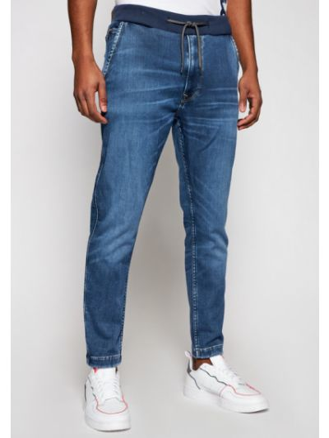 Joggery - niebieskie Pepe Jeans