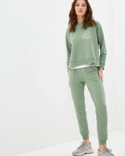Костюмный зеленый спортивный костюм Elardis