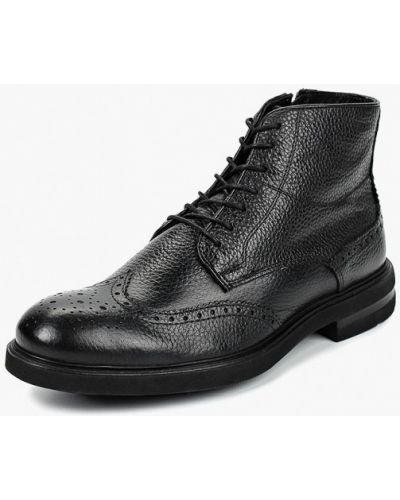 Ботинки осенние кожаные демисезонный Bata