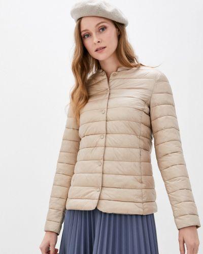 Бежевая теплая куртка Befree