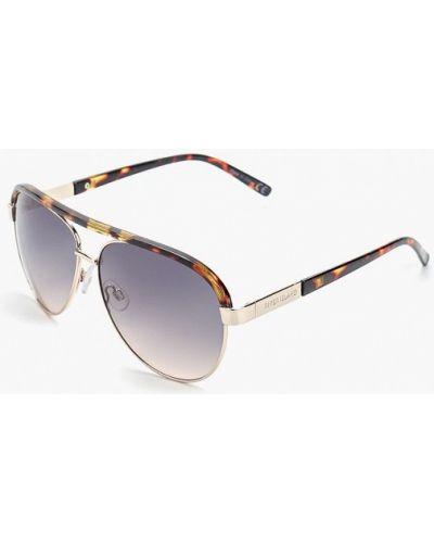 Солнцезащитные очки авиаторы серые River Island