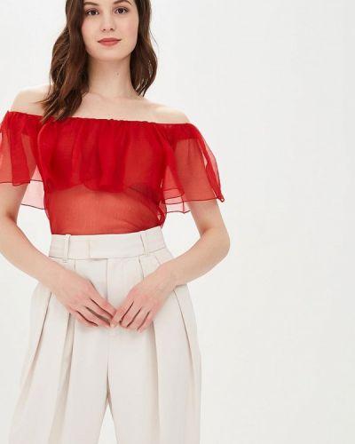 Блузка весенний красная Galina Vasilyeva