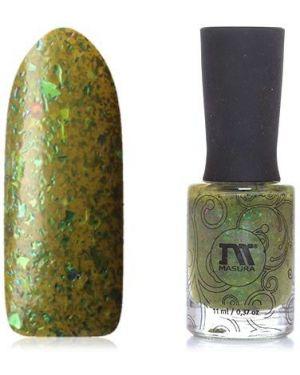 Зеленый лак для ногтей Masura