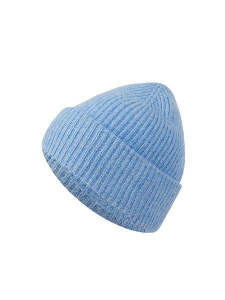 Czapka bawełniana - niebieska Tom Tailor Denim