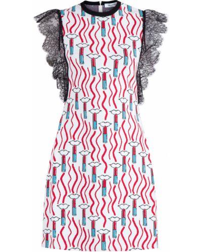 Платье в рубчик спортивное Valentino