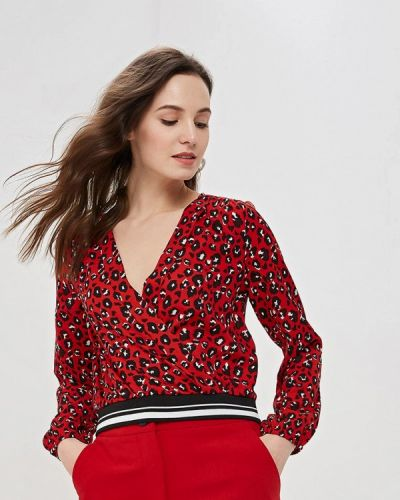 Блузка с длинным рукавом красная индийский Jennyfer