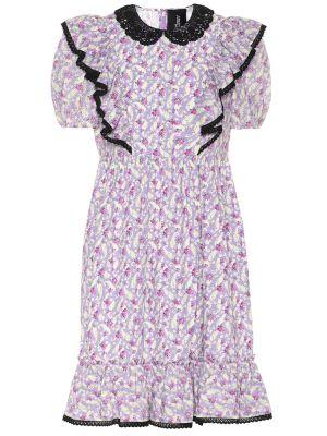 Платье миди винтажная с цветочным принтом Marc Jacobs