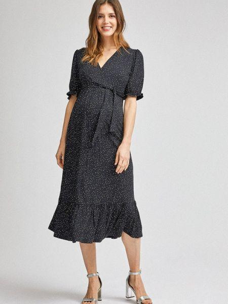 Платье для беременных прямое черное Dorothy Perkins Maternity
