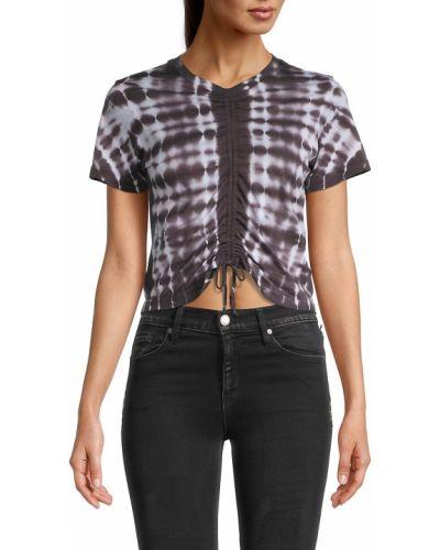 T-shirt bawełniana - czarna Monrow
