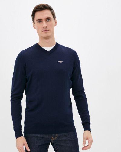 Синий пуловер Galvanni