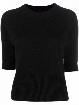 Кашемировый свитер - черный Fedeli