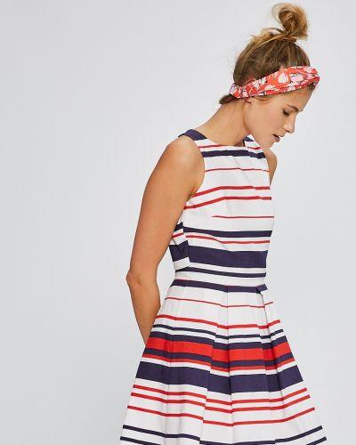 Платье мини на пуговицах с вырезом Answear