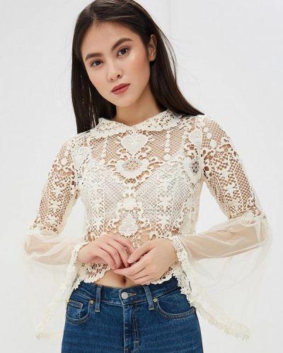 Блузка кружевная белая Danity