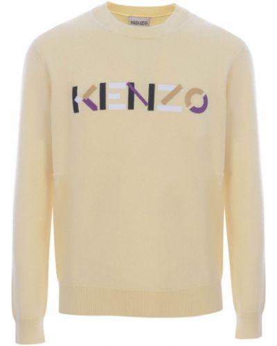 Sweter - beżowy Kenzo