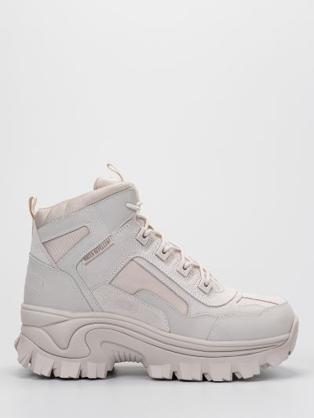 Кожаные ботинки - бежевые Skechers