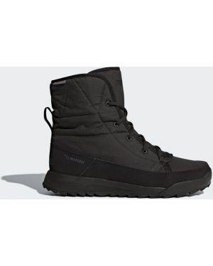 Повседневные теплые черные сапоги Adidas