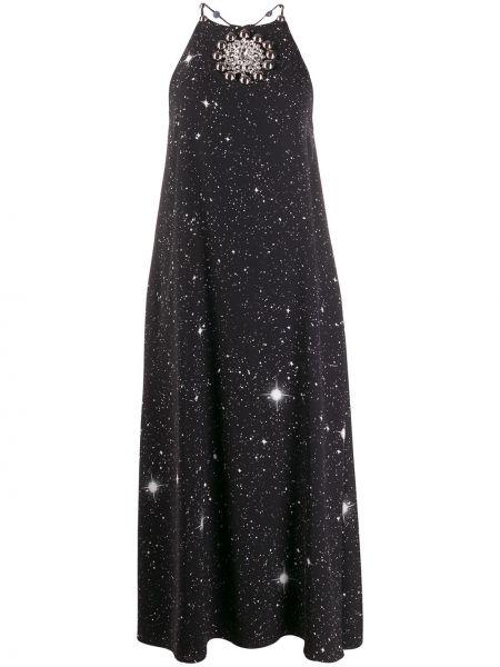 Sukienka czarny rozkloszowana Christopher Kane