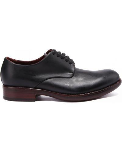 Кожаные туфли закрытые круглые Rocco P.