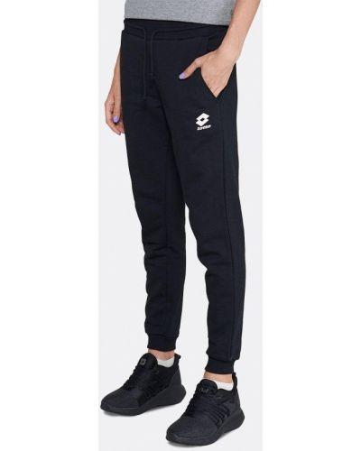Спортивные брюки - черные Lotto