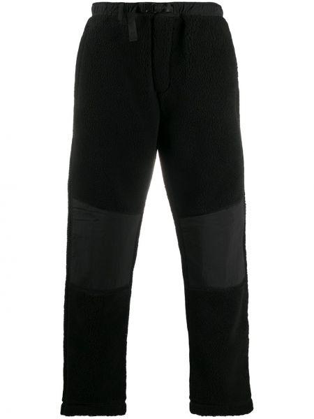 Прямые черные брюки с карманами Maharishi