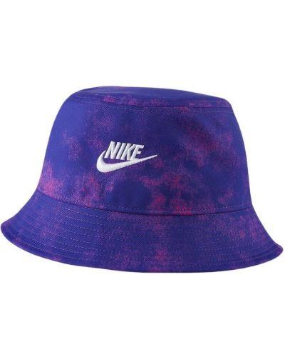 Niebieski kapelusz Nike