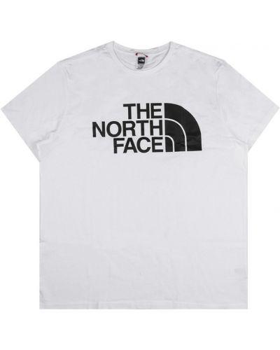 Prążkowany t-shirt oversize z printem The North Face