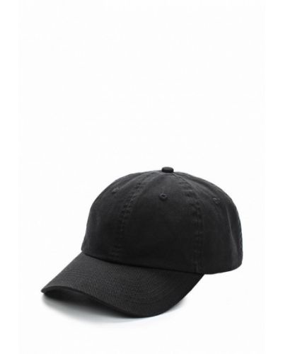 Черная бейсболка Topshop