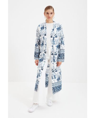 Kaftan - niebieski Trendyol