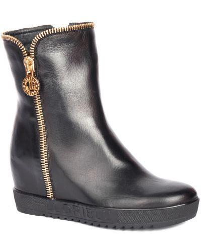 Кожаные ботинки осенние Loriblu