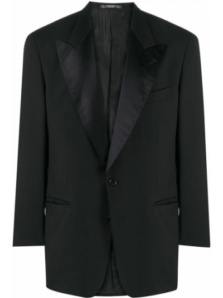Smoking - czarny Valentino Pre-owned
