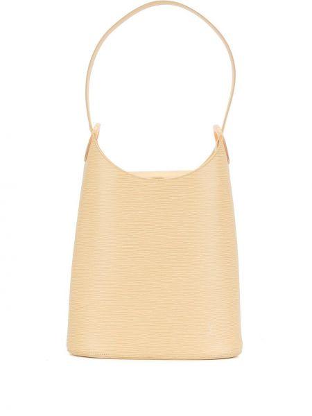 Skórzana torebka z łatami rama Louis Vuitton Pre-owned