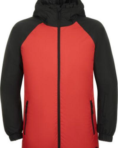 Утепленная красная куртка на молнии Termit