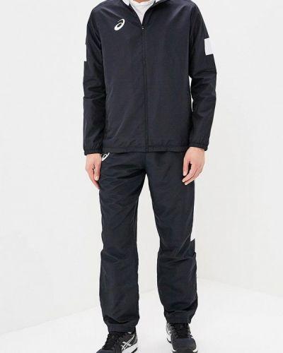 Спортивный костюм черный Asics