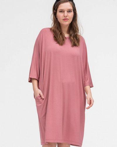 Домашнее розовое платье Lessismore