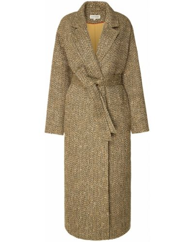 Пальто зеленое с запахом A La Russe