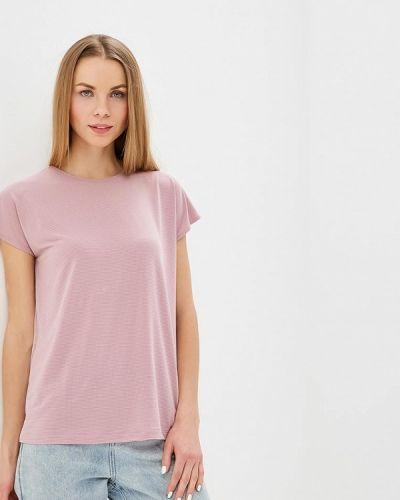 Блузка с коротким рукавом розовая Tutto Bene