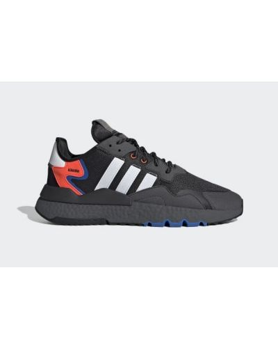 Czarne joggery vintage sznurowane Adidas