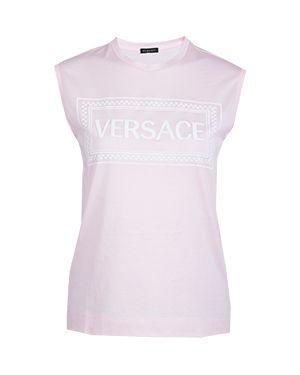 Футболка розовый Versace