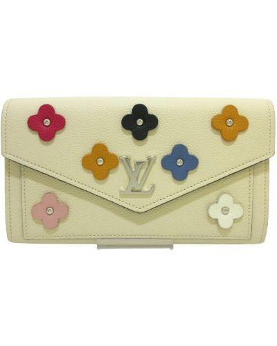 Beżowy portfel Louis Vuitton Vintage