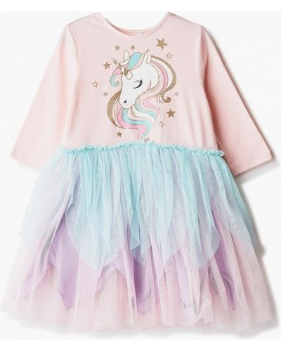 Розовое платье на торжество Acoola