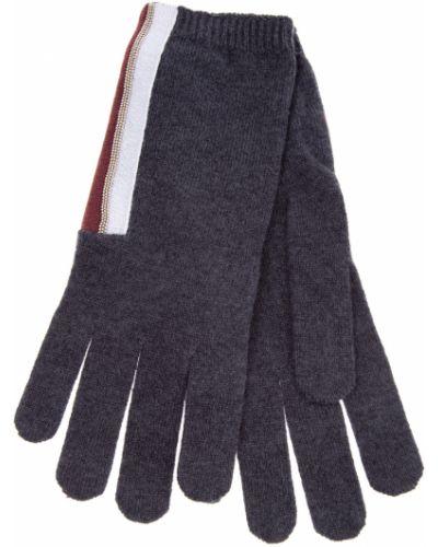 Перчатки вязаные кашемировые Brunello Cucinelli
